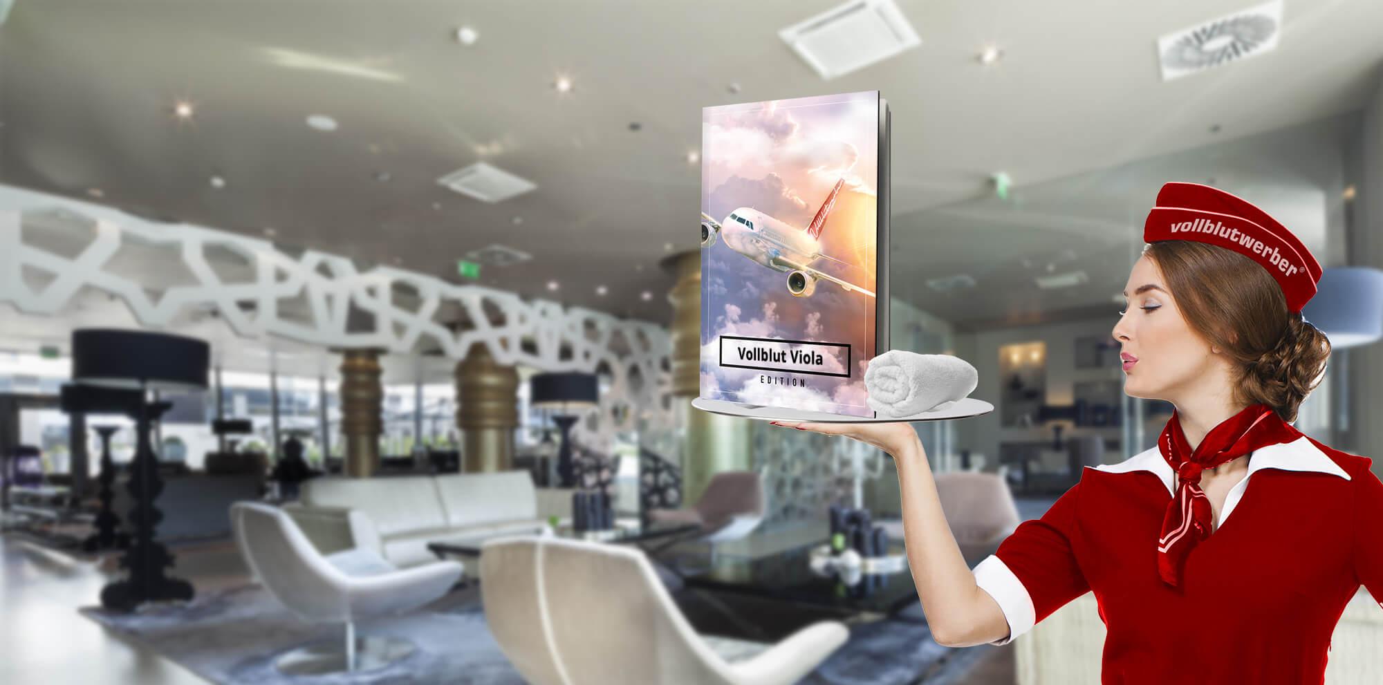 AN BORD! Jetzt virtuell Reisen und Ihr persönliches Flight Book sichern!